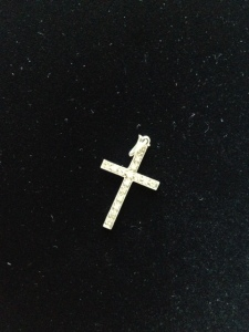 This cross, usually a symbol of Christian sacrifice, but not in this case.