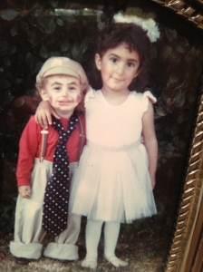 Jesse and Rachel, around 1987.