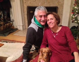 Christmas Eve with Bob, the kids and the dogs, all under one roof, was the best gift.